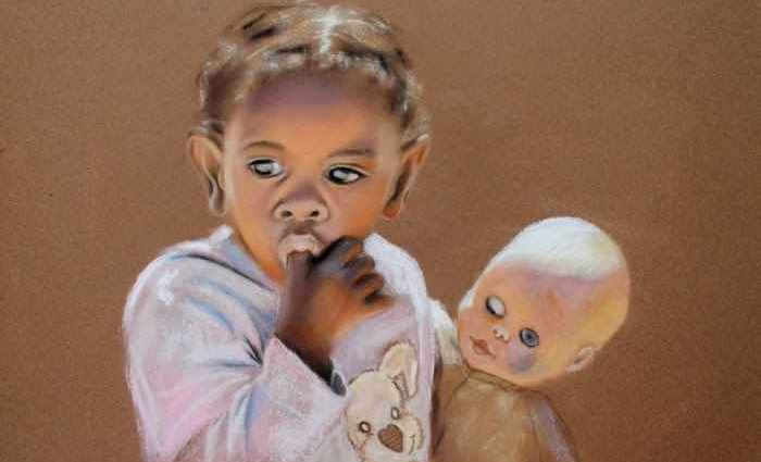 Картины пастелью. Renate Dohr 1