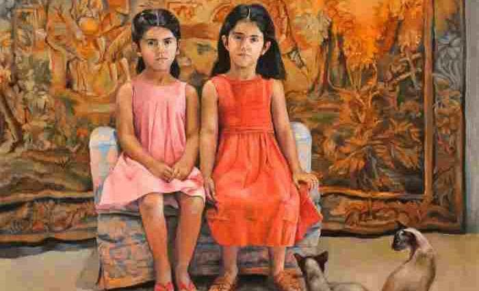 Ливанская художница. Rima Jabbur 1