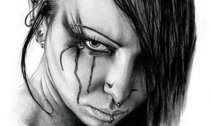 Рисунок карандашом. DyingQuasar 1