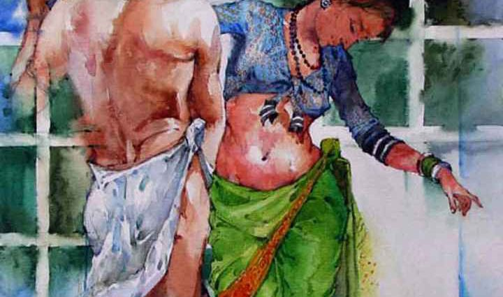 Ramchandra Kharatmal. Художник из Индии 1