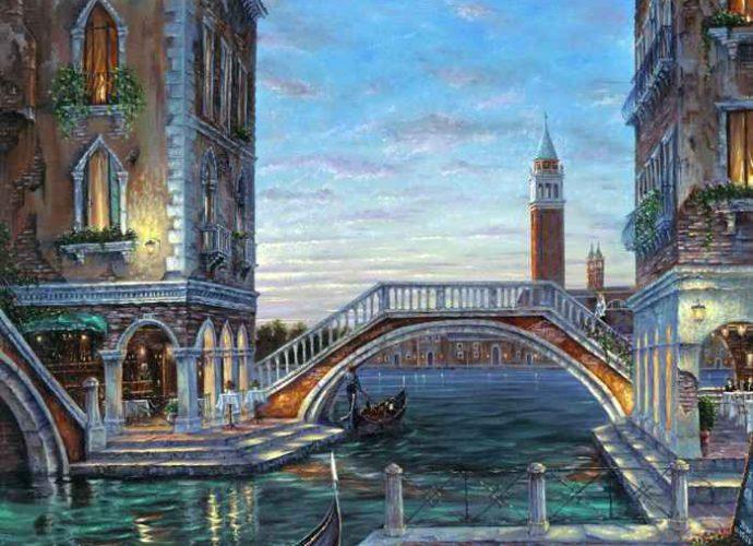 Романтические городские пейзажи. Robert Finale 239