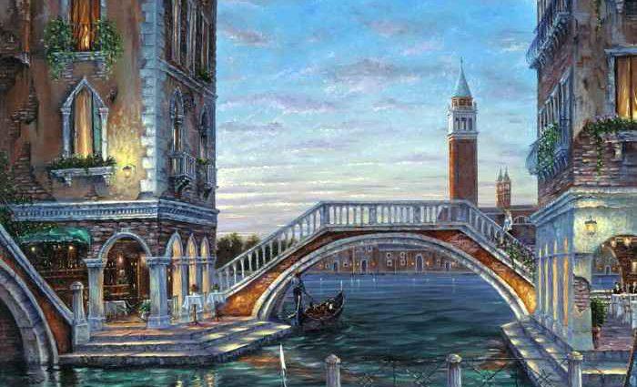Романтические городские пейзажи. Robert Finale 1