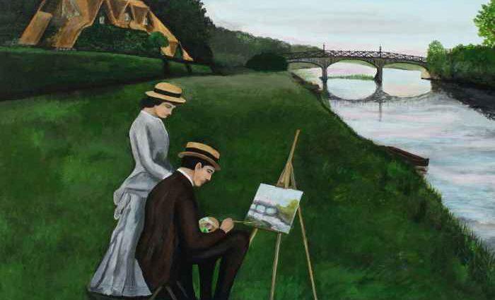 Современные художники Британии. Robert Harris 1