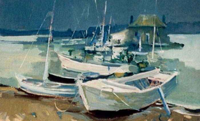 Французский художник. Robert Ricart 1