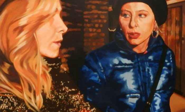 Итальянская художница. Romana Marzaduri 1