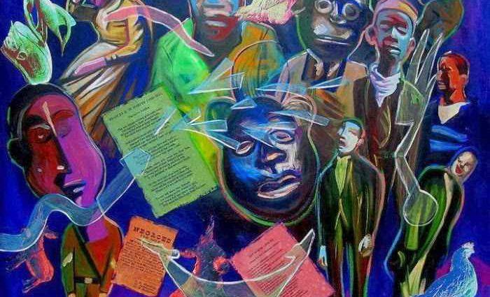 Современный американский художник. Ronald Hall 1