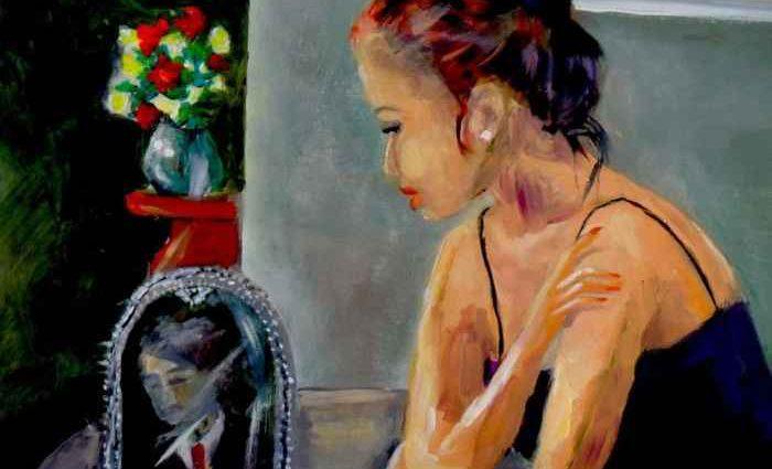 Британский художник. Rosalind Roberts 1