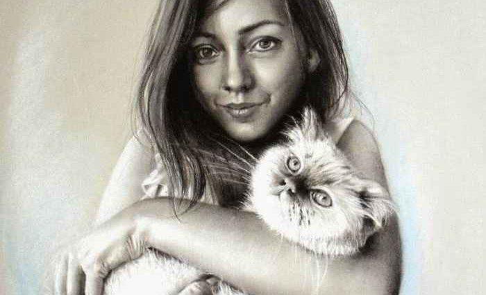 Турецкая художница. Rukiye Garip 1