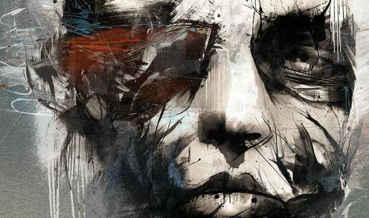 Эмоциональные рисунки. Russ Mills 1