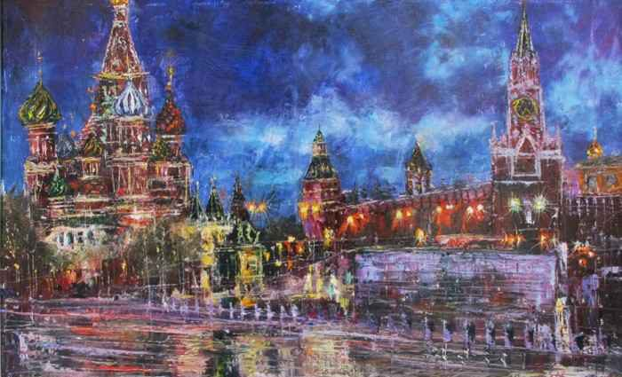 Российский художник. Еникеев Юнис 1