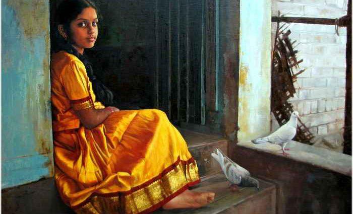 Естественная красота женщин. S.Elayaraja 1