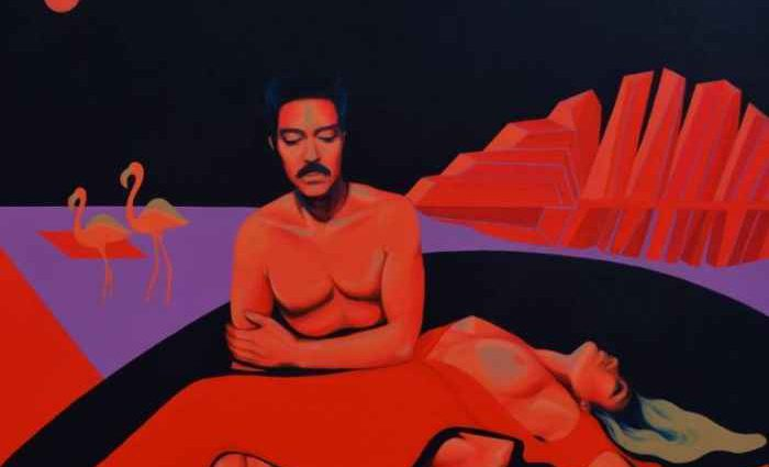 Французско-алжирский художник. Sarah Haddou 1