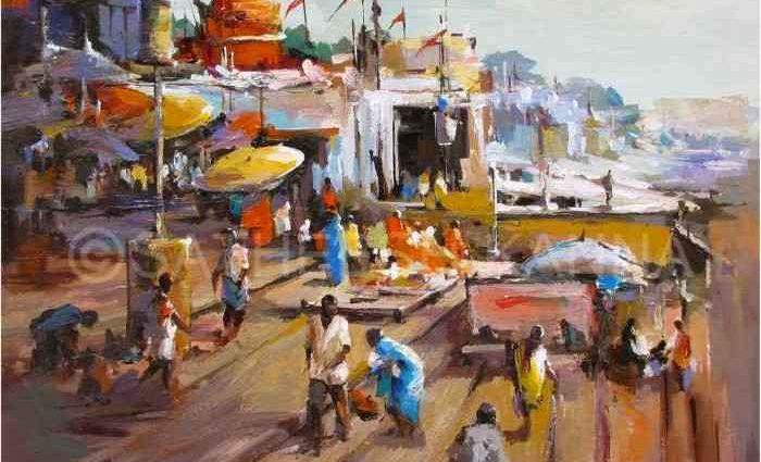 Индийский художник. Satheesh Kanna 1