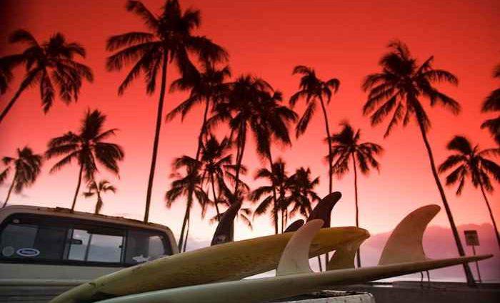 Красоты Гавайских островов. Фотографии. Sean Davey 1