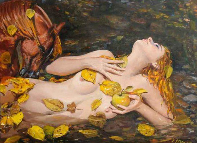 Современные художники Албании. Sefedin Stafa 17