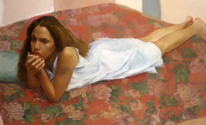 Sharon Sprung. Художница 1
