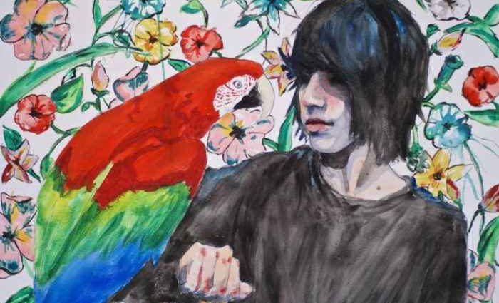 Молодая австрийская художница. Silvia Knodlstorfer 1