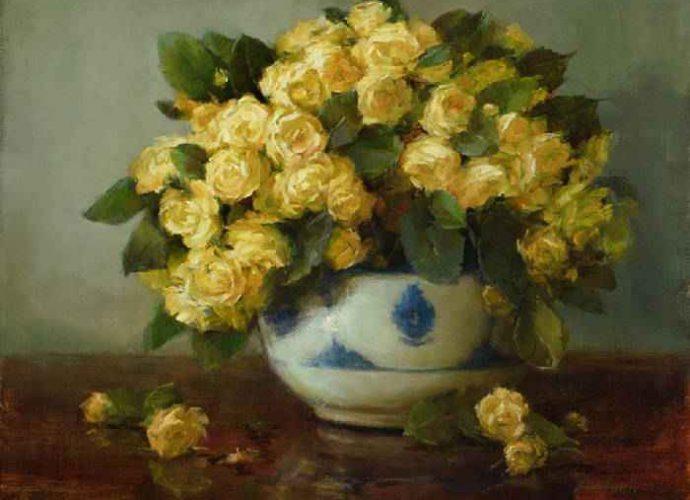 Цветочные картины. Stephanie Birdsall 219