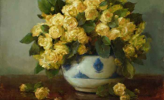 Цветочные картины. Stephanie Birdsall 1