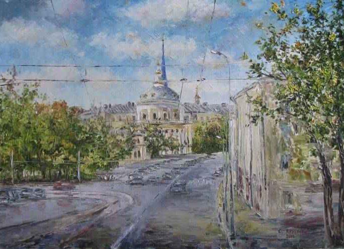Российский художник. Светлана Круглова 17