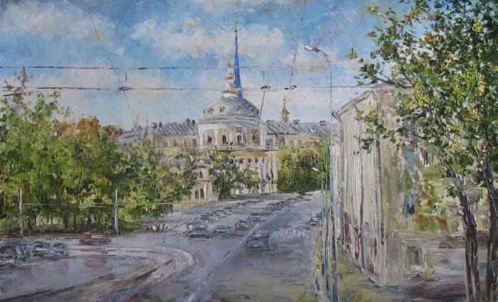 Российский художник. Светлана Круглова 1