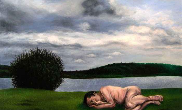 Современный французский художник. Sylvestre Evrard 1