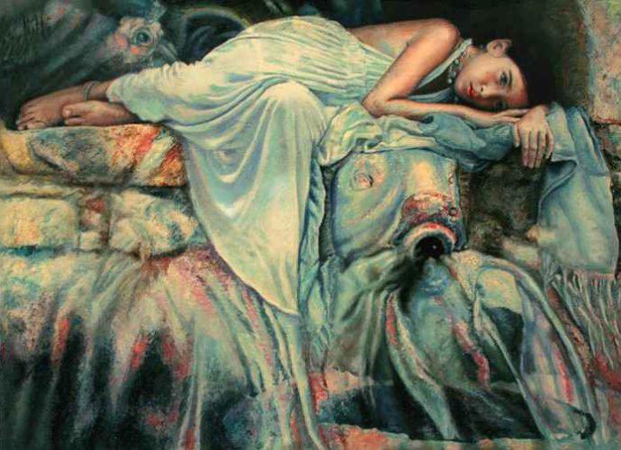 Современные художники Кипра. Sylvia Nitti 1