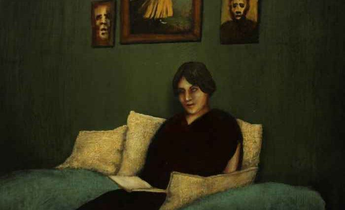 Венгерский художник. Szabo Gyula 1