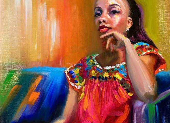 Импрессионизм в работах Talya Johnson 163