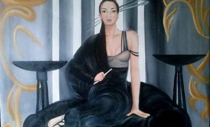 Молодой итальянский художник. Tania Triolo 1
