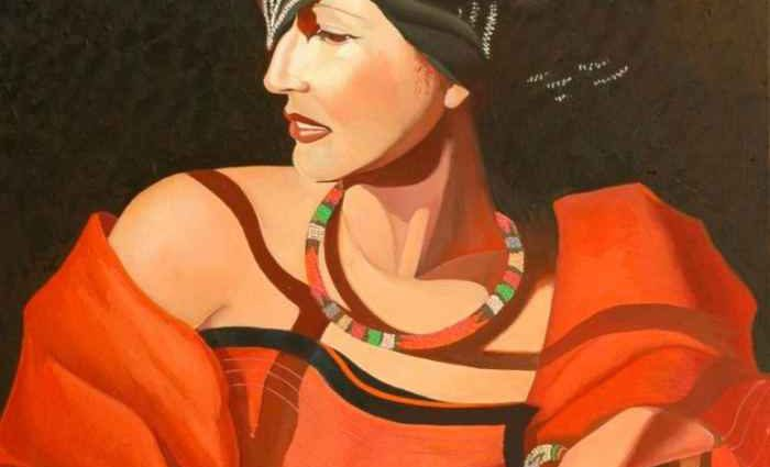 Украинская художница. Tatyana Binovska 1