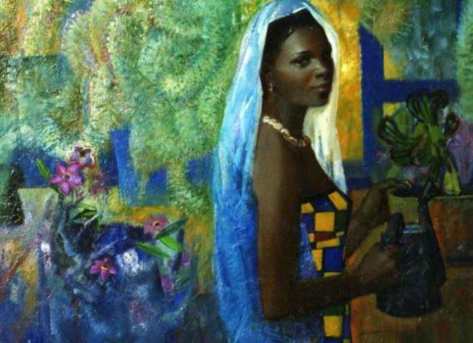 Teasfay Atcbekha Negga. Современный эфиопский художник 1