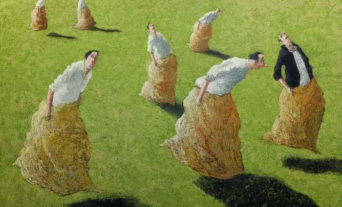 Французский художник-сюрреалист. Thomas Bossard 1
