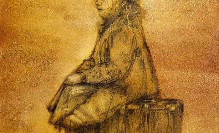 Британский художник. Thomas M. Thomson 1