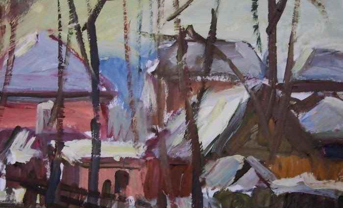 Американский художник. Thomas Wezwick 1