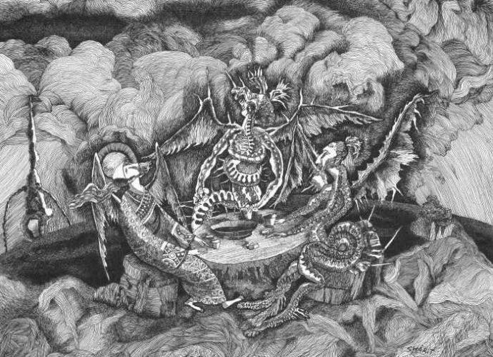 Современные художники Узбекистана. Тоир Шарипов 9
