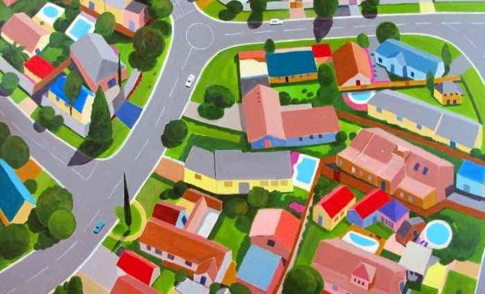 Виды с воздуха. Toni Silber-Delerive 1