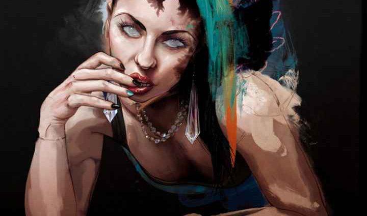 Современный художник. Tyson McAdoo 1
