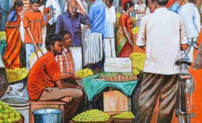 Индийские темы. Usha Shantharam 1