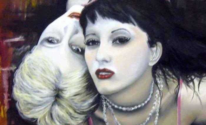 Женщины Валентины Де Чирикос. Valentina De Chirico 1