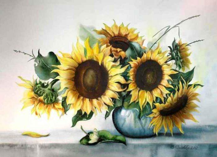 Акварельные рисунки цветов. Валентина Валевская 187