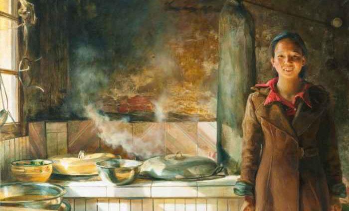 Российский художник. Victoria Kharchenko 1