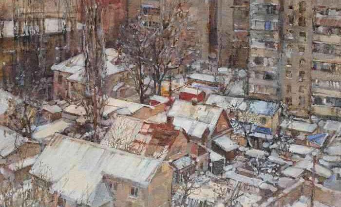 Молодая украинская художница. Viktoria Kutukova 1