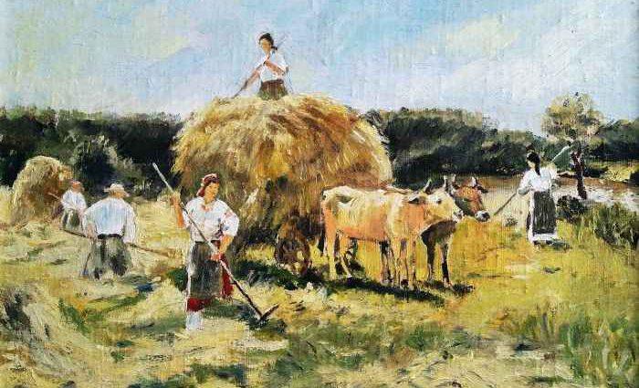 Румынский художник. Violeta Oprea 1