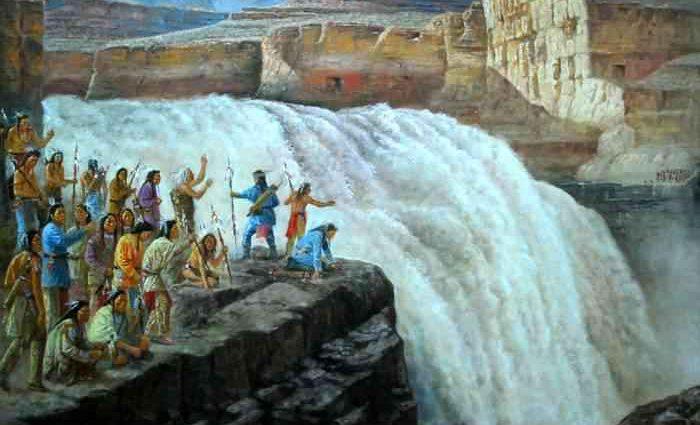 Комбинация индийской и западной живописи. Vishalandra Dakur 1