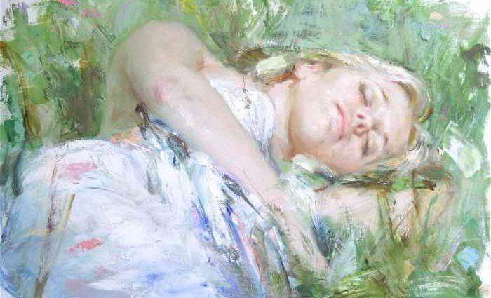 Итальянский художник. Vittorio Vidan Dangelico 1