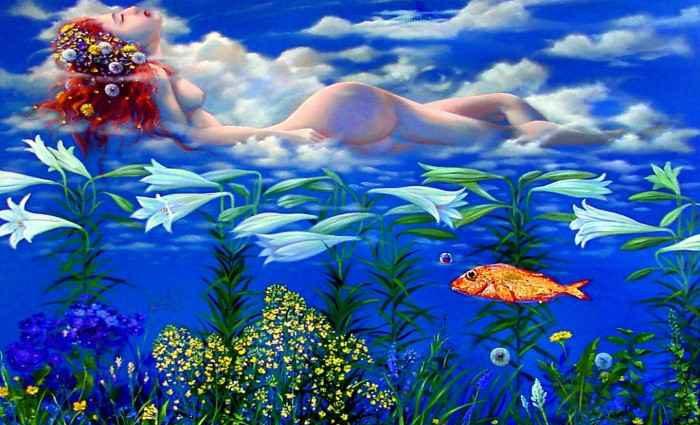 Символизм в живописи. W.A. Di Bolgherese 1