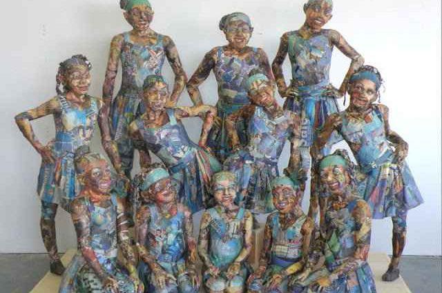 Скульптуры из мусора Уилла Курца 1
