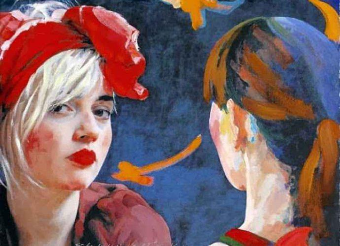 Австрийская художница. Xenia Hausner 89