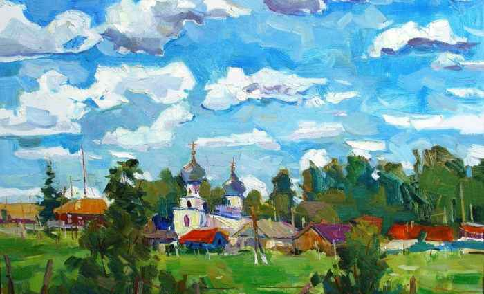 Украинская художница. Юлия Пастухова 1